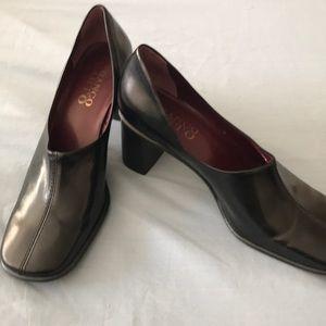 Franco Sarto size 10 black dress shoes